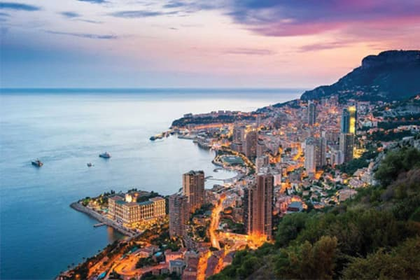 Transfert VTC Nice vers Monaco